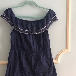 Calypso St Barth for Target Cotton Navy Dress